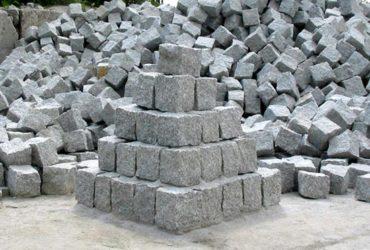 Kostka granitowa szara ( Strzegom )