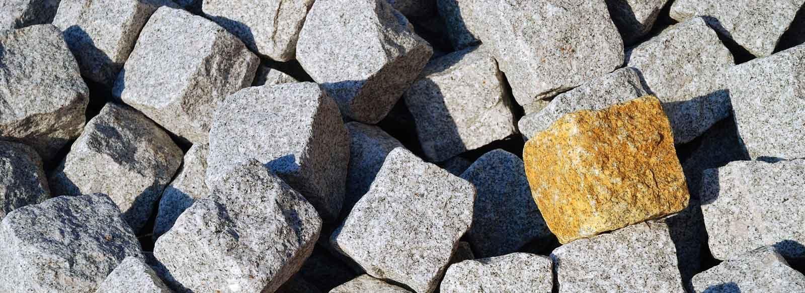 Kostka granitowa Strzegom